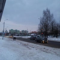 """Photo taken at """"Масюкоўшчына"""" Дыспетчарская станцыя by Lelick on 3/19/2013"""