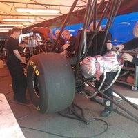 Photo taken at Santa Pod Raceway by Jussi K. on 5/27/2013
