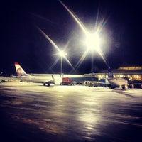 Photo taken at Bergen Lufthavn, Flesland (BGO) by Hans-Petter N. on 12/14/2012