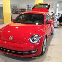 Photo taken at Volkswagen Doğuş Oto by Kadir K. on 2/8/2013