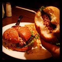 Photo taken at Hamburger Hamlet by Qaeren A. on 10/4/2012