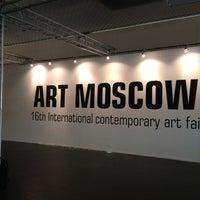 Снимок сделан в Art Moscow пользователем Natalia I. 9/19/2012