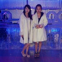 Photo taken at IMPERIAL Ice Bar by Soowan P. on 6/6/2013