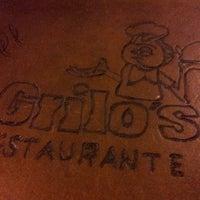 Photo taken at Grilo's Restaurante by Rodrigo B. on 4/23/2013