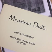 Photo taken at Massimo Dutti by Gökhan K. on 5/10/2014