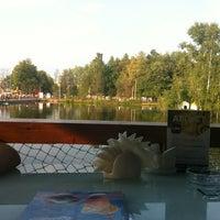 Photo taken at Lake cafe by Anton B. on 8/10/2013