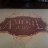 Foto scattata a Amore Italian Restaurant da Sarah il 3/14/2013