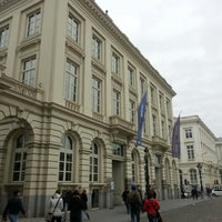Photo taken at Magritte Museum by Giovanni M. on 4/21/2013