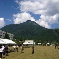 Photo taken at JGSDF Camp Yufuin by Yoshikazu I. on 7/17/2013