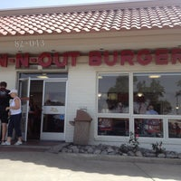 Photo taken at In-N-Out Burger by sunni u. on 4/15/2013