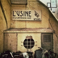 Photo taken at L'Usine: Cafe, Bistro & Lifestyle Shop by Viktor N. on 6/3/2013