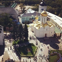 Photo taken at The Holy Trinity-St. Sergius Lavra by Vasiliy K. on 7/6/2013