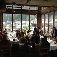 Photo taken at The Boathouse Restaurant by Julia M. on 2/5/2013