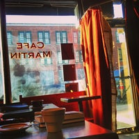 Photo taken at Café Martin by Gregory S. on 2/17/2013