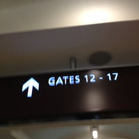 Photo taken at Gate 17 by Marucia M. on 1/21/2013
