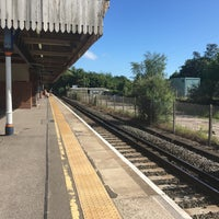 Photo taken at Fareham Railway Station (FRM) by James L. on 6/11/2017