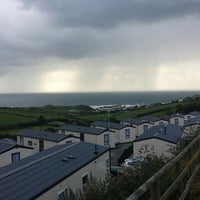 Photo taken at Woolacombe Sands Park by James L. on 9/16/2013