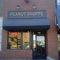 Photo taken at Peanut Shoppe by Scott S. on 4/1/2013