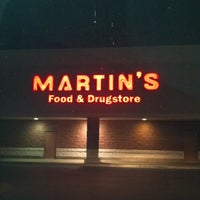 Photo taken at Martin's Food & Drugstore by 💜Shellie 💋 M. on 12/4/2012
