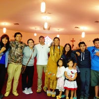 Photo taken at Elsipogtog First Nation Church by Savvy S. on 9/1/2013