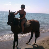 Photo taken at Kadriye Beach Park by Nata on 9/16/2012