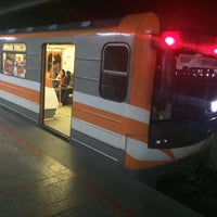 Photo taken at Sasuntsi Davit Metro Station | Սասունցի Դավիթ մետրոյի կայարան by Mike S. on 11/6/2016