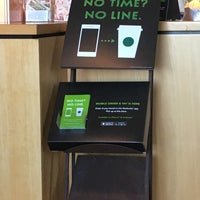 Photo taken at Starbucks by Elaine W. on 2/14/2016