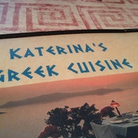 Photo taken at Katerina's Greek Cuisine by Elaine W. on 6/19/2013