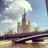 Photo taken at Bolshoy Ustyinsky Bridge by Джим З. on 5/12/2013