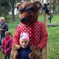 Photo taken at В Гостях у Бабы Яги by Yury Z. on 9/15/2013