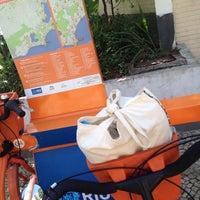 Photo taken at BikeRio - Estação 04 by Renata F. on 9/28/2013