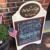 Photo taken at Old World Cafe & Ice Cream by Craig Z. on 7/17/2017