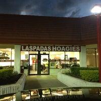 Photo taken at Laspada's Original Hoagies by Ben B. on 2/10/2013