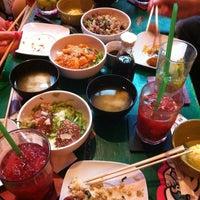 Photo taken at Uma Uma Japanese Kitchen by Oscar G. on 5/31/2013