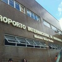 Photo taken at Aeroporto Internacional de Navegantes / Ministro Victor Konder (NVT) by Renata M. on 11/15/2012