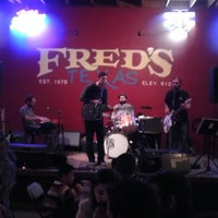 Photo taken at Fred's Texas Cafe by Keri W. on 12/9/2012