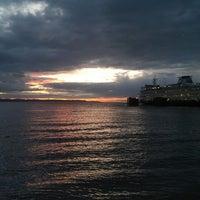 Photo taken at Edmonds Ferry Terminal by Jasper W. on 5/25/2013