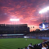 Photo taken at Dodger Stadium by Stefan G. on 7/12/2013