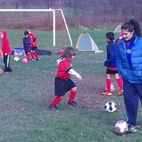 Photo taken at Wappinger United Soccer Club by Jason D. on 11/3/2012
