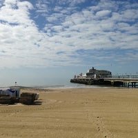 Photo taken at Bournemouth Pier by Fatih ö. on 5/16/2013