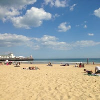 Photo taken at Bournemouth Pier by Fatih ö. on 5/25/2013