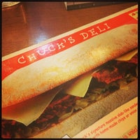 Photo taken at Chuck's Deli by Angela Marie C. on 2/23/2014