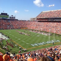 Photo taken at Pat Dye Field at Jordan-Hare Stadium by Laura W. on 10/6/2012