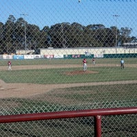 Photo taken at SLO Blues Baseball by Abigail P. on 7/6/2013