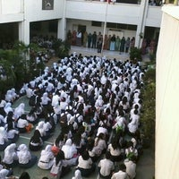 Photo taken at SMA Negeri 6 Bandung by Bima P. on 8/19/2013