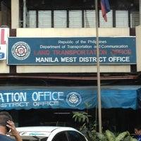 Foto tirada no(a) LTO Manila West District por Joel F. em 2/27/2013
