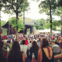 Photo taken at Celebrate Brooklyn!/Prospect Park Bandshell by Alan M. on 7/11/2013