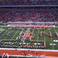 Photo taken at Memorial Stadium by Dave M. on 9/22/2012