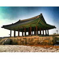 Photo taken at Hwaseong Fortress by Juno K. on 2/13/2013