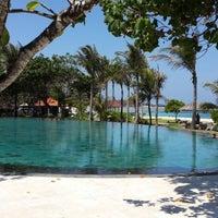 Photo taken at Ayodya Resort Bali by Jiwoong P. on 10/4/2013